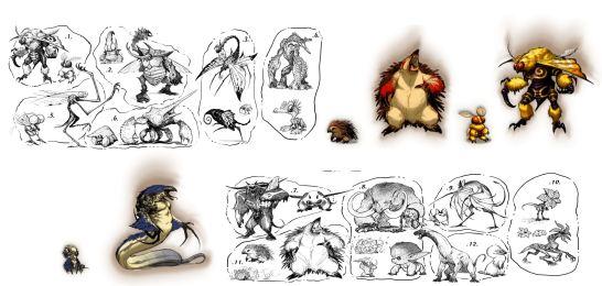 mythborn creatures